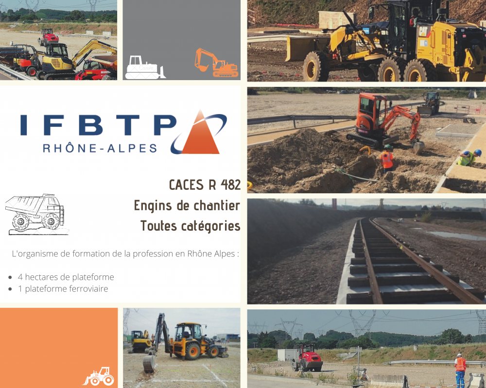 IFBTP Plateforme Engins de chantier